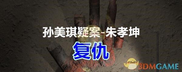 《孙美琪疑案-朱孝坤》一级线索——复仇