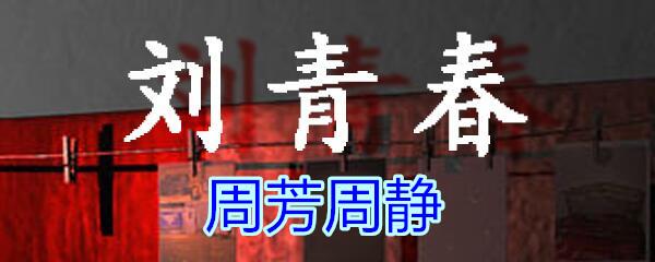 《孙美琪疑案-刘青春》五级线索——周芳周静