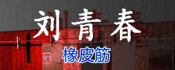 《孙美琪疑案-刘青春》五级线索——橡皮筋