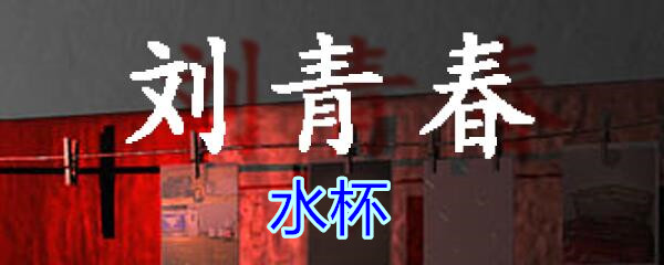 《孙美琪疑案-刘青春》五级线索——水杯