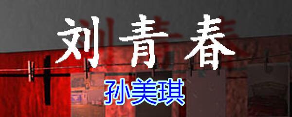 《孙美琪疑案-刘青春》五级线索——孙美琪