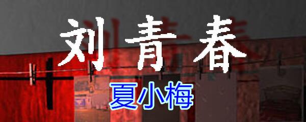《孙美琪疑案-刘青春》五级线索——夏小梅
