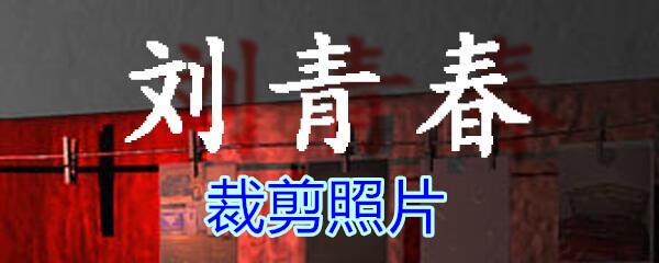 《孙美琪疑案-刘青春》五级线索——裁剪照片