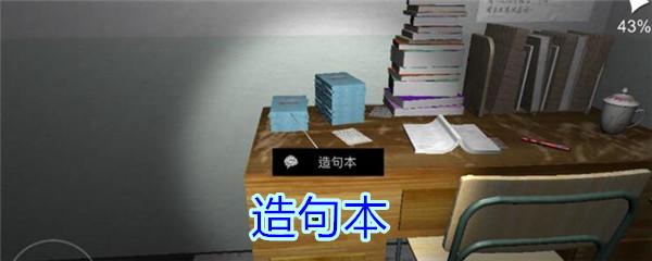 《孙美琪疑案-王思凤》五级线索——造句本