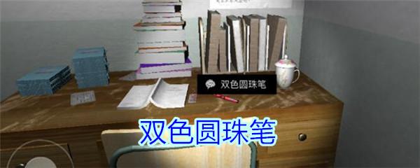 《孙美琪疑案-王思凤》五级线索——双色圆珠笔