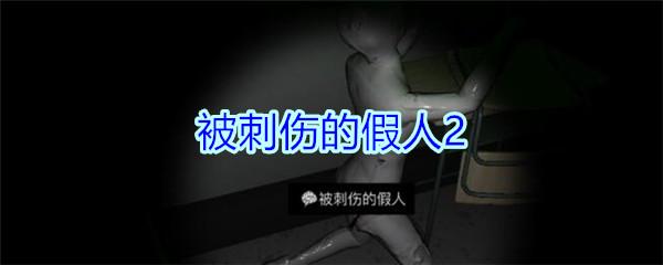 《孙美琪疑案-王思凤》四级线索——被刺伤的假人2