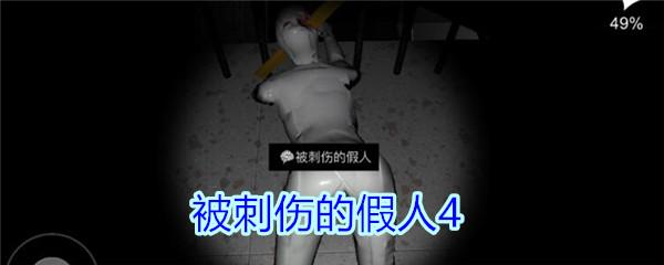 《孙美琪疑案-王思凤》四级线索——被刺伤的假人4