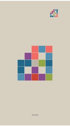 彩块拼图攻略