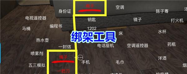 《孙美琪疑案-袁家宾馆》四级线索——绑架工具