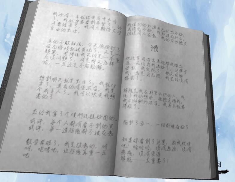 《孙美琪疑案-袁家宾馆》四级线索——日记本