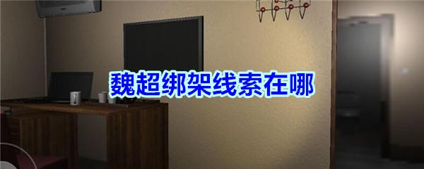 《孙美琪疑案-袁家宾馆》四级线索——魏超绑架