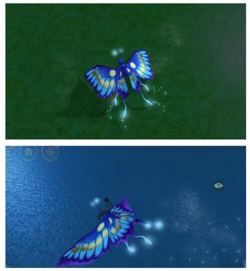 《创造与魔法》新坐骑荧惑蝶图片介绍