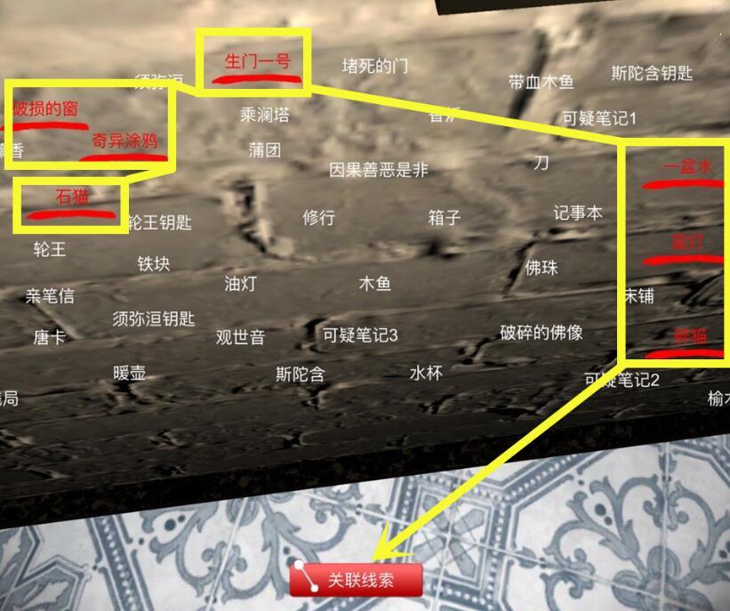 《孙美琪疑案-宋明朝》三级线索——孵化