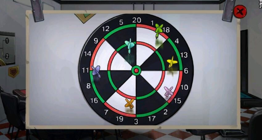 《密室逃脱绝境系列11游乐园》数字盘小游戏攻略