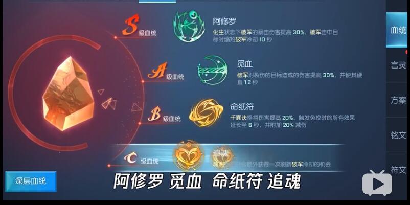 《龙族幻想》第七职业鸢血统搭配