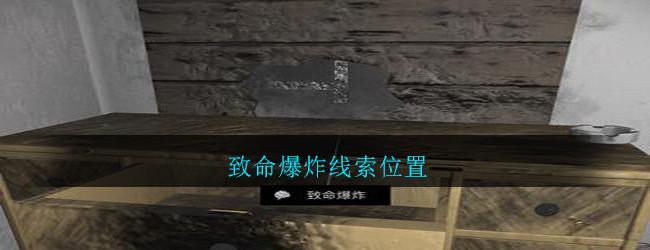 《孙美琪疑案:郎威》五级线索——致命爆炸