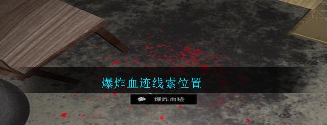 《孙美琪疑案:郎威》五级线索——爆炸血迹