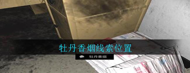 《孙美琪疑案:郎威》五级线索——牡丹香烟