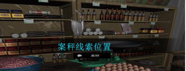 《孙美琪疑案:郎威》五级线索——案秤