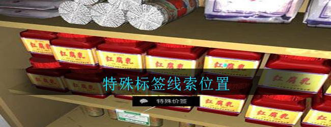 《孙美琪疑案:郎威》五级线索——特殊标签