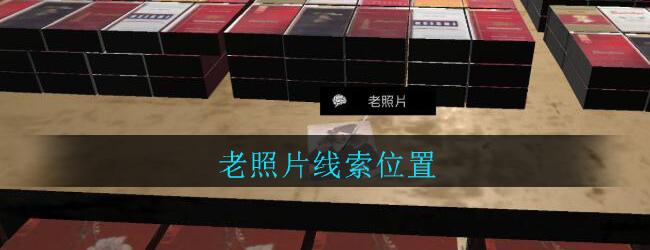 《孙美琪疑案:郎威》四级线索——老照片