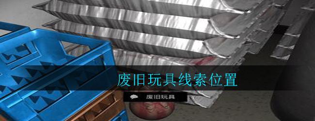 《孙美琪疑案:郎威》四级线索——废旧玩具