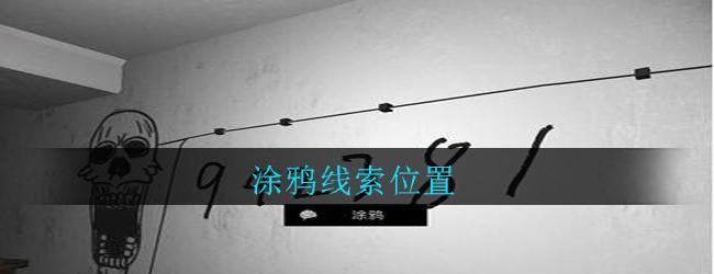 《孙美琪疑案:郎威》四级线索——涂鸦