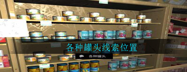 《孙美琪疑案:郎威》四级线索——各种罐头