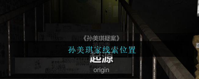 《孙美琪疑案:王勇》五级线索——孙美琪家