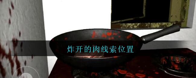 《孙美琪疑案:王勇》五级线索——炸开的肉