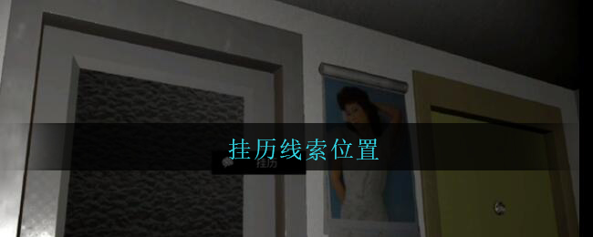 《孙美琪疑案:王勇》五级线索——挂历