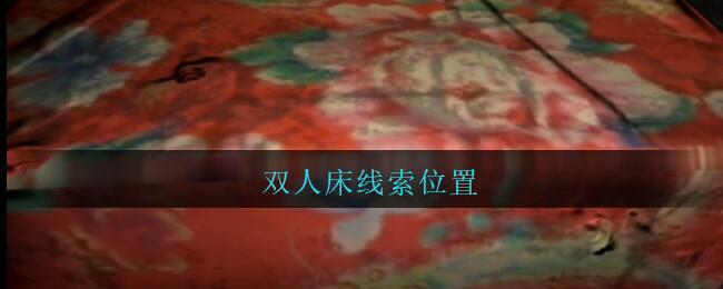 《孙美琪疑案:王勇》五级线索——双人床