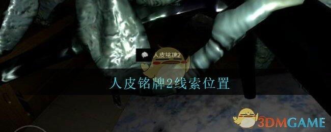 《孙美琪疑案:王勇》五级线索——人皮铭牌2