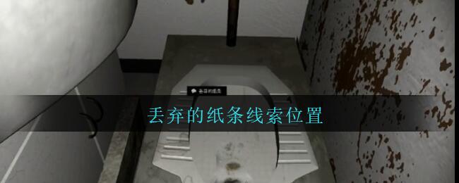 《孙美琪疑案:王勇》四级线索——丢弃的纸条