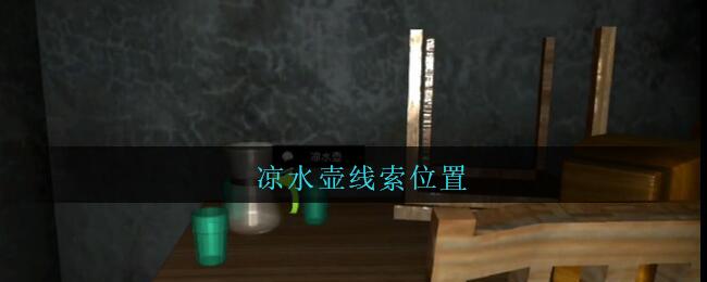 《孙美琪疑案:王勇》四级线索——凉水壶