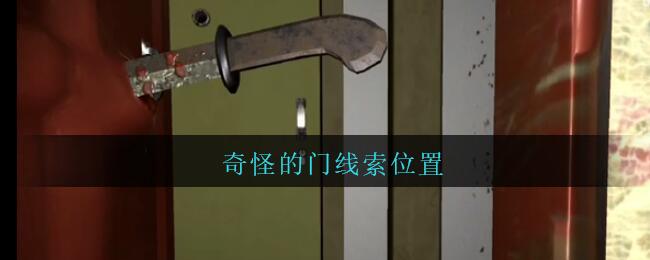 《孙美琪疑案:王勇》五级线索——奇怪的门