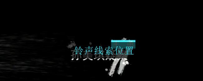 《孙美琪疑案:王勇》四级线索——铃声