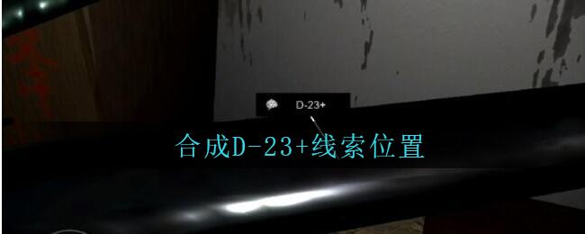 《孙美琪疑案:王勇》五级线索——合成D-23+