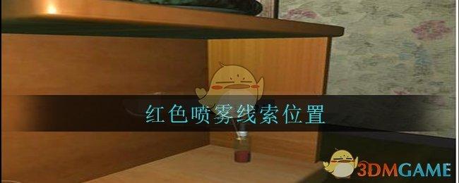 《孙美琪疑案:王勇》四级线索——红色喷雾