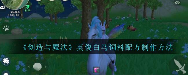 《创造与魔法》英俊白马饲料配方制作方法