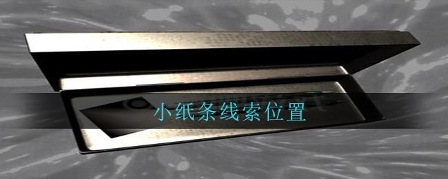 《孙美琪疑案:兰芝》五级线索——小纸条
