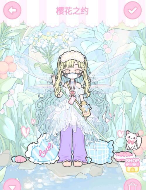 《装扮少女》剧情模式第八章——8-1樱花之约攻略