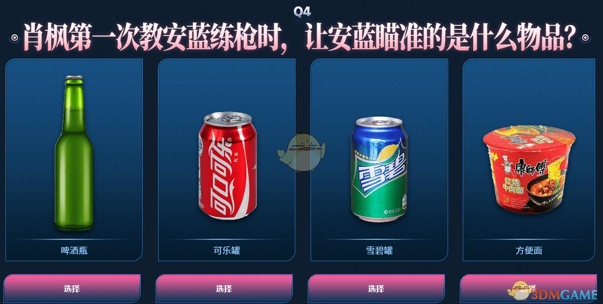 CF8.22网剧闯关答案大全