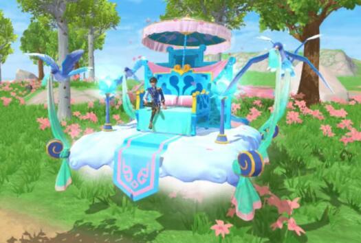 《创造与魔法》依云飞鹊双人载具获得方法