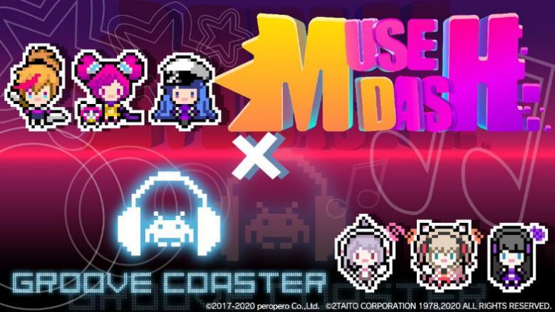 Muse Dash与节奏游戏《Groove Coaster》开展联动
