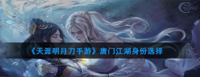 《天涯明月刀手游》唐门江湖身份选择
