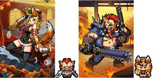 《冒险与挖矿》X《卡片怪兽》联动版本更新,全新佣兵猪霸,犬娘登场 !
