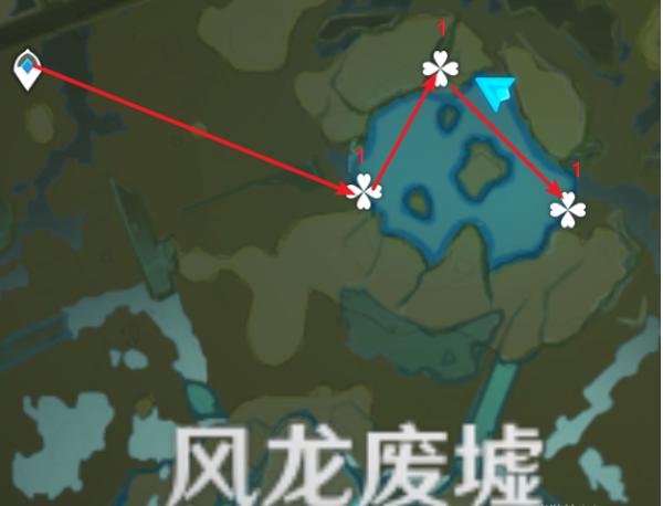 《原神》嘟嘟莲分布位置一览