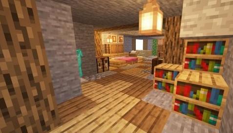 《我的世界》山洞小屋教程