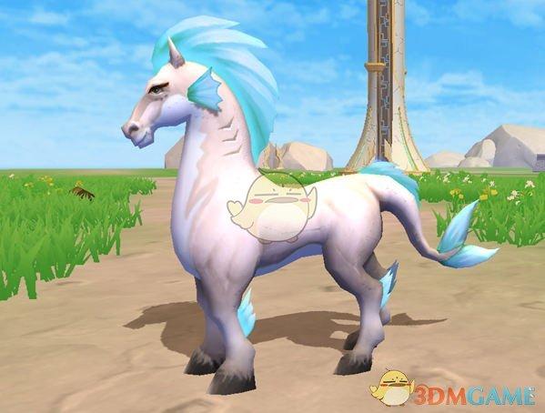 《创造与魔法》英俊白马介绍